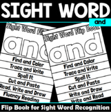 Sight Word Flip Book for and