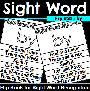Sight Word Flip Book for by