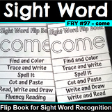 Sight Word Flip Book for come