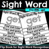 Sight Word Flip Book for get