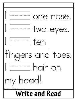 Sight Word Flip Book for have