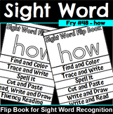 Sight Word Flip Book for how