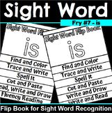 Sight Word Flip Book for is