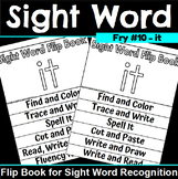 Sight Word Flip Book for it