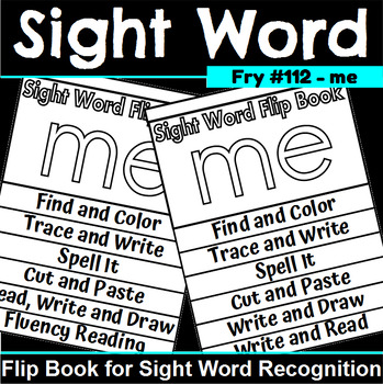 Sight Word Flip Book for me