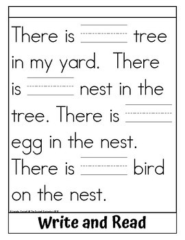 Sight Word Flip Book for one