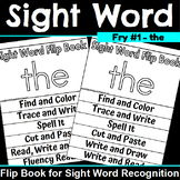 Sight Word Flip Book for the