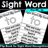Sight Word Flip Book for to