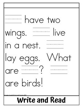 Sight Word Flip Book for we