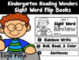 Sight Word Flip Books Aligned with Kindergarten Reading Wonders