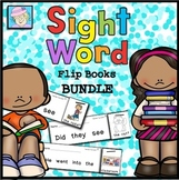 Sight Word Books Kindergarten | Sight Word Practice Kindergarten BUNDLE