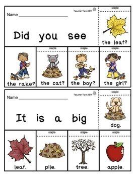 Sight Word Books Kindergarten | Sight Word Practice Kindergarten BUNDLE