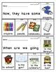 Sight Word Flip Books:  Back to School