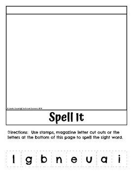 Sight Word Flip Books Complete Set