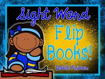 Sight Word Flip Books - Dolch Primer