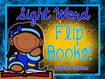 Sight Word Flip Books - Dolch Primer