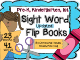 Sight Word Flip Books PreK and Kindergarten