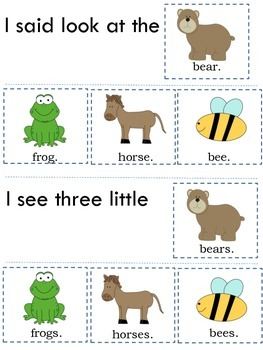 Sight Word Flip Books - Set A