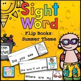Sight Word Flip Books for Summer