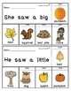 Fall Sight Word Books Kindergarten | Sight Word Books Kindergarten