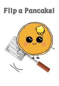 Sight Word - Flip a Pancake!