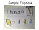 Sight Word Flipbook- ME and BIG