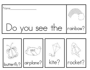 Sight Word Flipbooks, Set 1