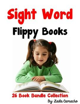Sight Word Flippy Books