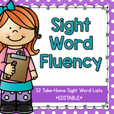 Sight Word Fluency {Dolch}