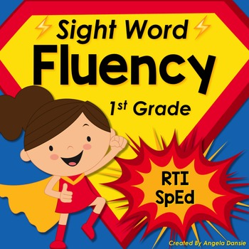 Sight Word Fluency (1st Grade Dolch)