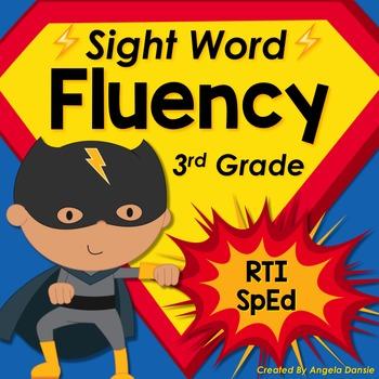 Sight Word Fluency (3rd Grade Dolch)