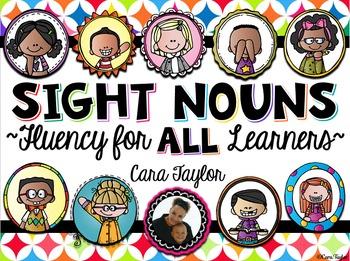 Sight Word Fluency Activities