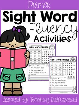 Sight Word Fluency Activities (Set 2)