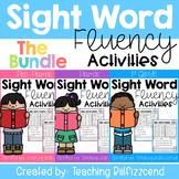 Sight Word Fluency Activities (The Bundle)