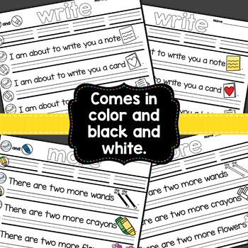 Sight Word Fluency Activity Sheets {First Hundred Fry Words Edition}