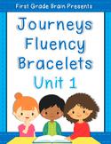 Sight Word Fluency Bracelets - works with Journeys Unit 1