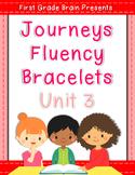 Sight Word Fluency Bracelets - works with Journeys Unit 3