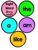 Sight Word Fluency Bubbles - {with 28 bonus activity pages}