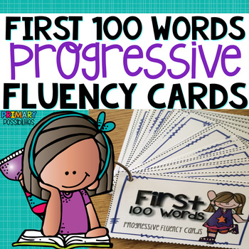 Sight Word Fluency Cards { List 1 }