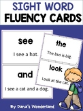 Sight Word Fluency Flash Cards for Struggling Readers (Set 1)