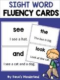 Sight Word Fluency Cards for Struggling Readers (Set 1)