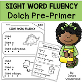 Kindergarten Sight Word Fluency Phrases