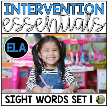 Sight Word Fluency Essentials #1: Intervention and Small Group Resources