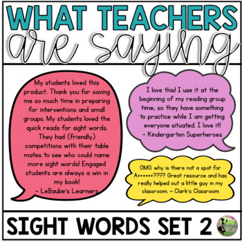 Sight Word Fluency Essentials #2: Intervention and Small Group Resources