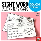 Sight Word Fluency Flashcards: DOLCH Primer