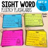 Sight Word Fluency Flashcards SET 2: FRY Words 101-200