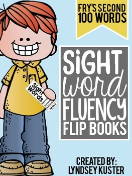 Sight Word Fluency Flip Books - Set Two