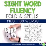 Sight Word Fluency Fold & Spell