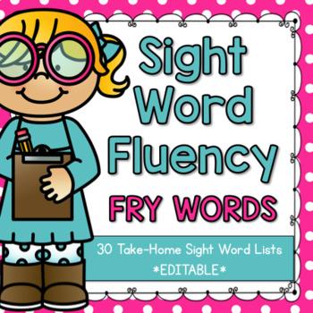 Sight Word Fluency {Fry}