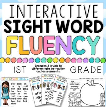 Sight Word Fluency Fun First Grade